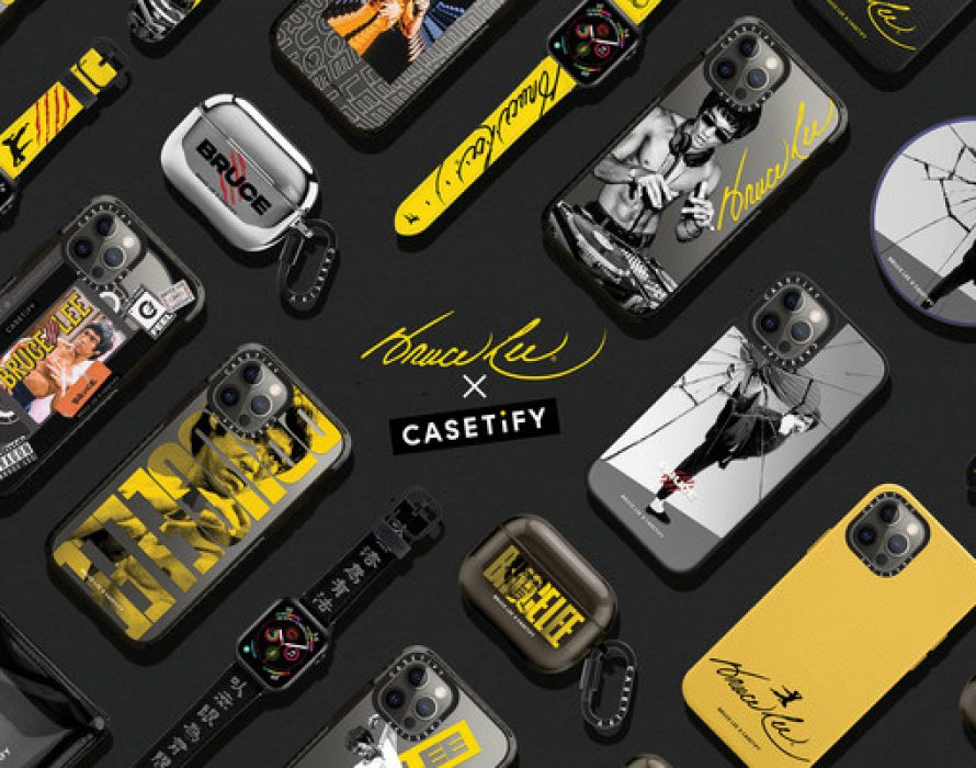 CASETiFY Kicks off a New Collaboration with Bruce Lee