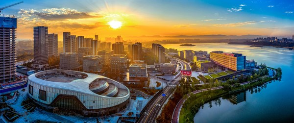 Chengdu Science Town in Southwest China's Sichuan province has gathered a great number of tech companies and research facilities.