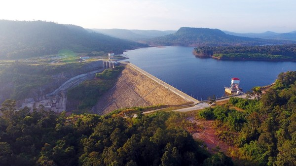 """The Lower Stung Russei Chrum Hydropower Plant went into operation on December 28, 2013. With the highest installed capacity then in Cambodia, it was beautifully described as a """"dazzling pearl along the 'One Belt and One Road'""""."""