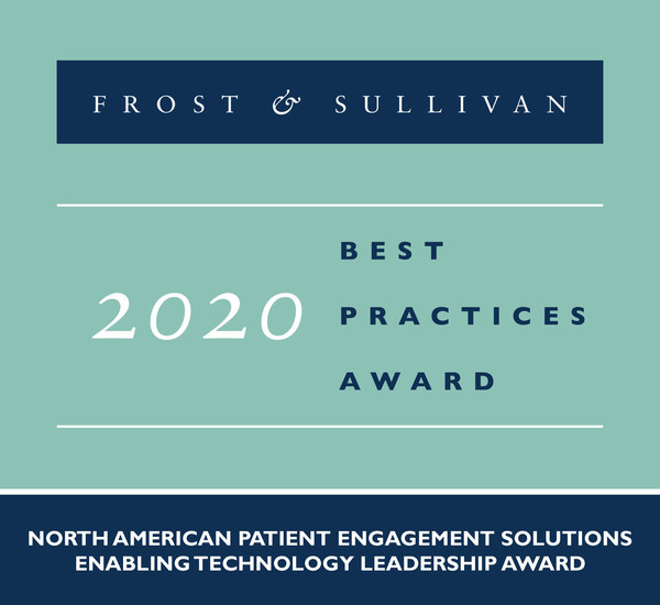 2020 North American Patient Engagement Solutions Enabling Technology Leadership Award