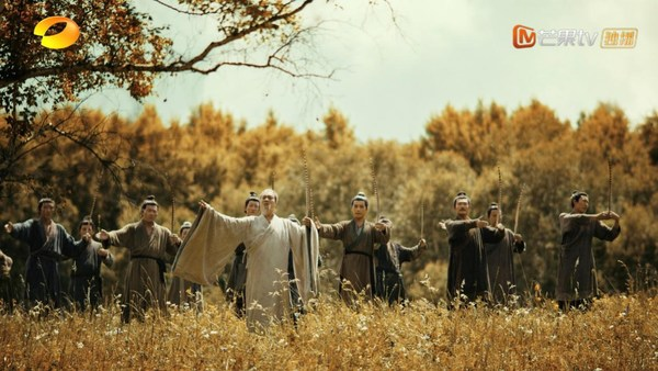 """""""Spring and Autumn Period"""" in CHINA Episode 1, Confucius is teaching the rites to his disciples."""