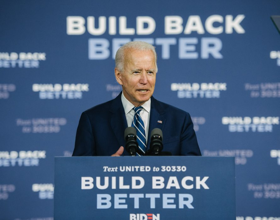 Biden promises help to U.S. workers hit by pandemic, Trump hints at 2024 run