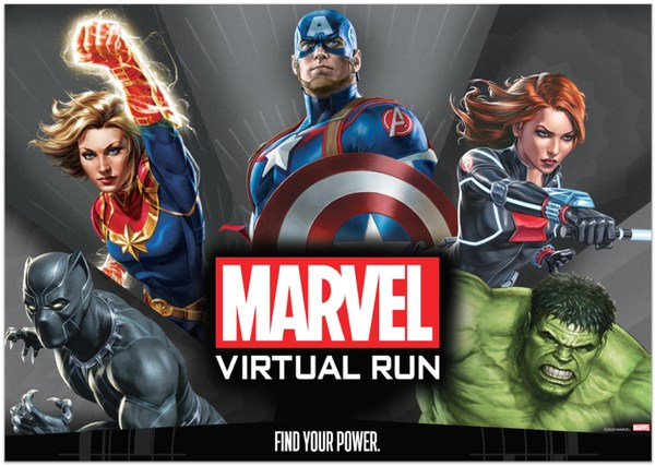 LIV3LY: Find the Power with the First MARVEL Virtual Run in Southeast Asia