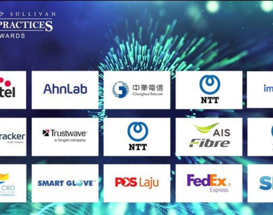 Frost & Sullivan Honors Asia-Pacific's Leading Organizations in the 4th Virtual Ceremony for the 2020 Asia-Pacific Best Practices Awards