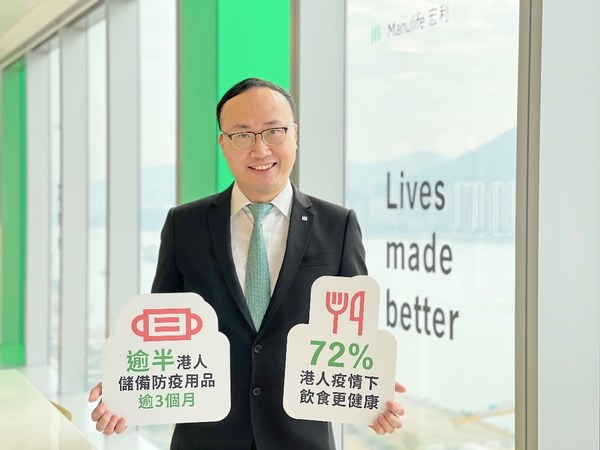 Manulife's latest survey reveals that Hongkongers expect the COVID-19 pandemic to last and seek healthier habits to prepare for an extended presence of the virus, according to Wilton Kee, Vice President, Chief Product Officer and Head of Health at Manulife Hong Kong.