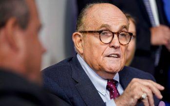 Rudy Giuliani has COVID-19, Trump says