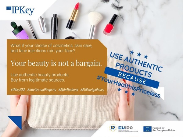 IP Key South-East Asia urges consumers to be aware of counterfeit cosmetics and beauty products