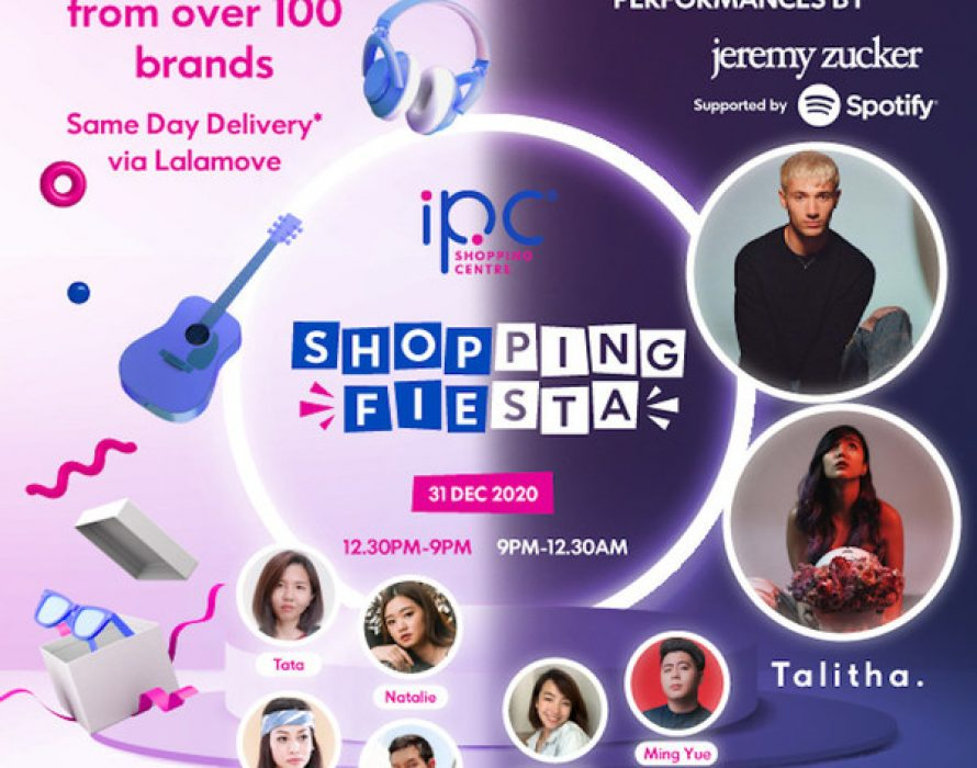 IPC Shopping Centre Supports Over 100 Brands with a 12-Hour Virtual New Year's Eve Countdown