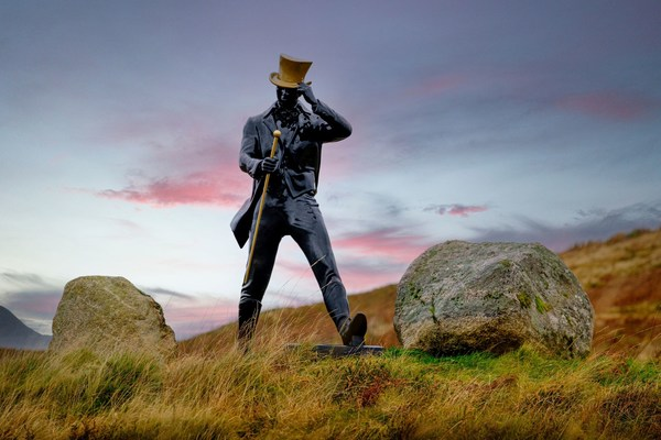 A symbol of progress – the Johnnie Walker 'Striding Man'