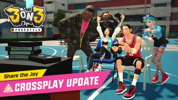 Share the Joy! '3on3 FreeStyle' Crossplay Update!