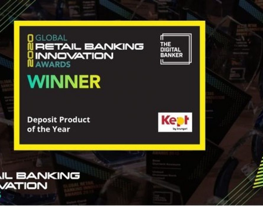 Kept by Krungsri Wins Accolades for Excellence in Retail Deposit Product