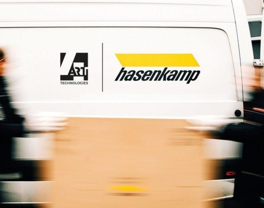 Leading fine-art logistics specialist hasenkamp and 4ARTechnologies launch strategic cooperation to revolutionize global art handling