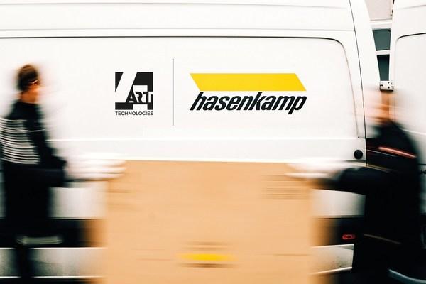 Leading fine-art logistics specialist hasenkamp and 4ARTechnologies launch strategic cooperation.