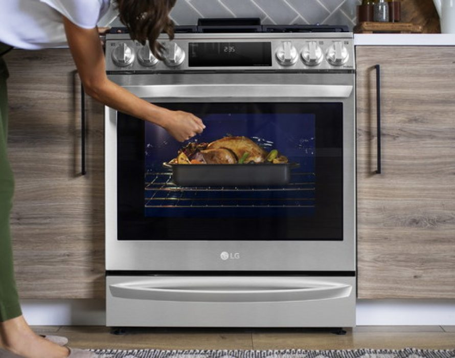 LG's InstaView® Range with Air Sous Vide is the Oven Home-Gourmands have been Waiting For