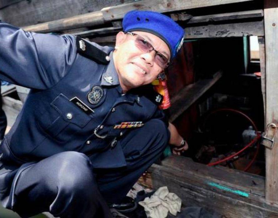 Marine police seize tanker, diesel worth RM1.6 million in Pasir Puteh