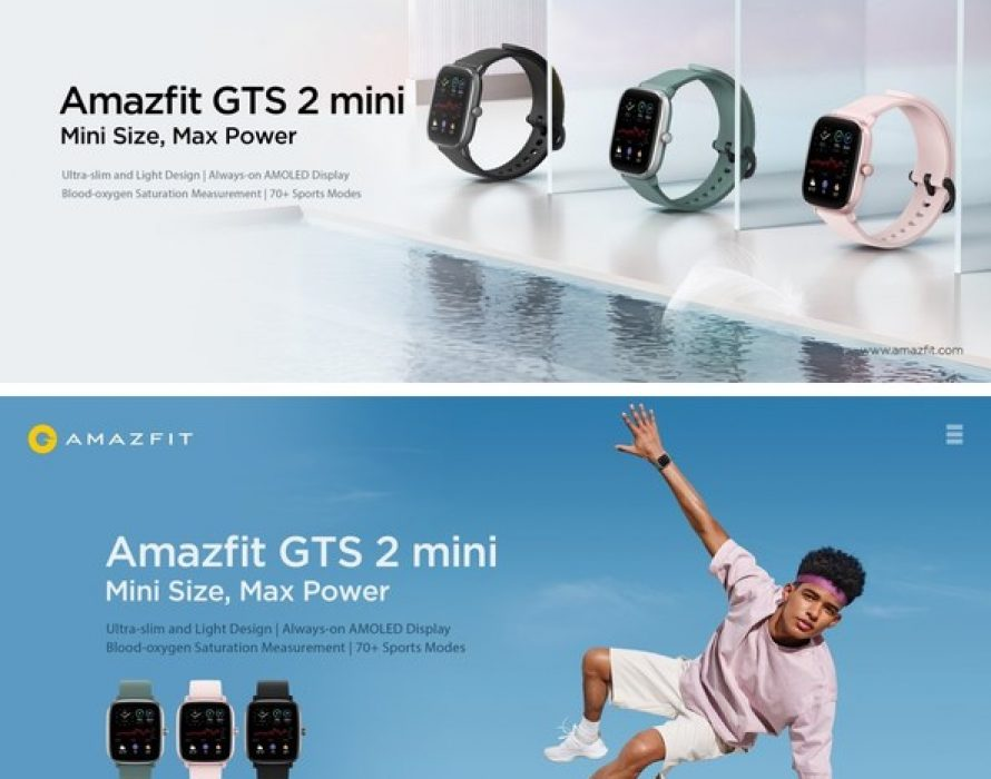 Meet the Amazfit GTS 2 mini – Latest Stylish Smartwatch and Lightweight Fitness Companion, with Upgraded Health Tracking and Smart Features
