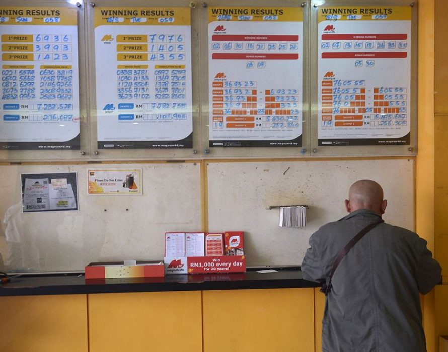 Cops nab nine for running an illegal lottery