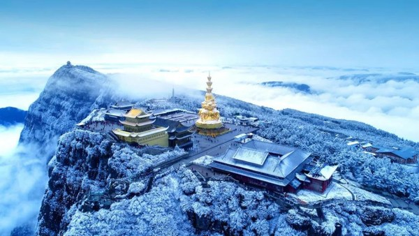 The Golden Summit of Mount Emei
