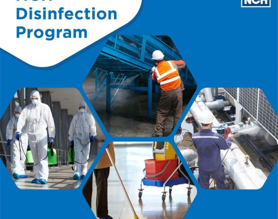 NCH Asia Pacific calls for consistent maintenance and vigilance during this pandemic with the 'NCH Disinfection Program'