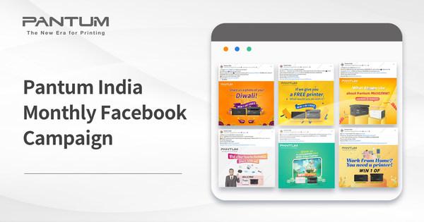 Pantum India launches Facebook campaigns