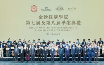 Sands China Holds Sands Supplier Excellence Awards and Sands Procurement Academy Graduation
