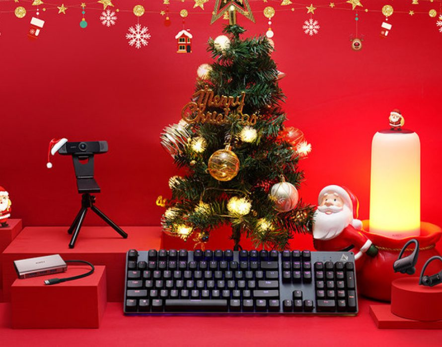 Start the Christmas Cheer with AUKEY Holiday Tech Gifts