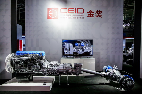Gold Award Winner of the 2020 CEID Award: Weichai Power WP13G power assembly