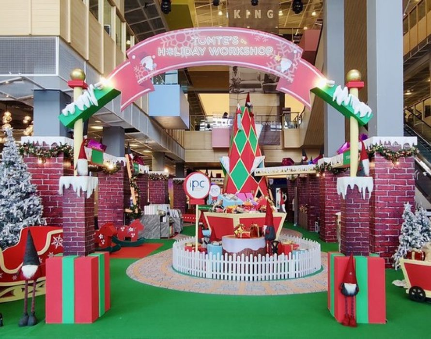 Tomte Stuck in Malaysia Brings Christmas Cheer at IPC Shopping Centre