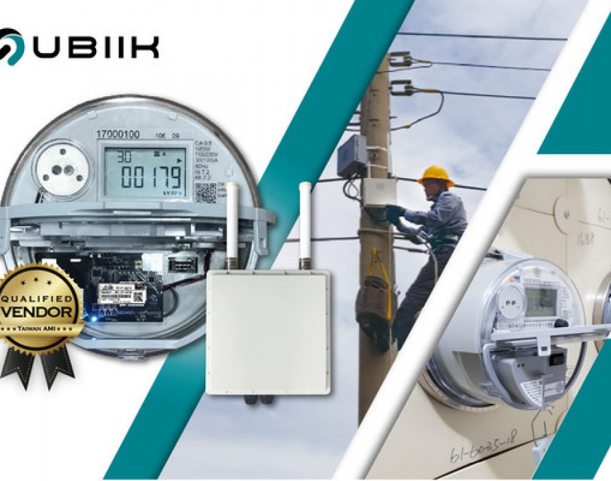 Ubiik Wins US$19.2Mn of Taiwan Power Corporation's 2020 AMI Tender to Deploy 310,000 Electricity Meters Network