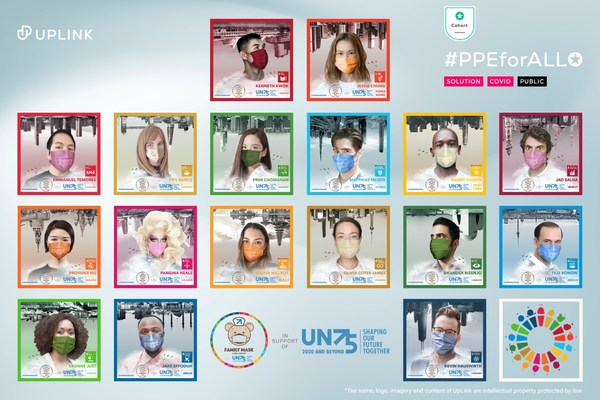 Jessie Chung and Kenneth Kwok join Family Mask's global ambassadors for the UN75 #TurnItAround initiative of UN SDG Action Campaign