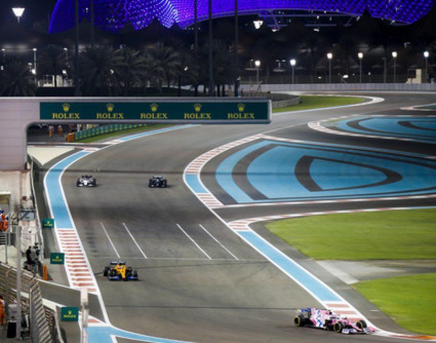 Yas Island Abu Dhabi honours frontline workers in style at Formula 1 Etihad Airways Abu Dhabi Grand Prix 2020