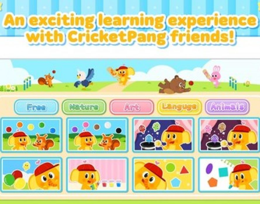 YOU NEED CHARACTER Launches Educational App CricketPang Kindergarten