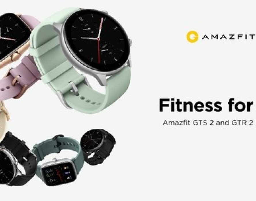 Amazfit Introduces the Ultra-fashionable Amazfit GTR 2e and GTS 2e Smartwatches with Cutting-edge Health and Fitness Features