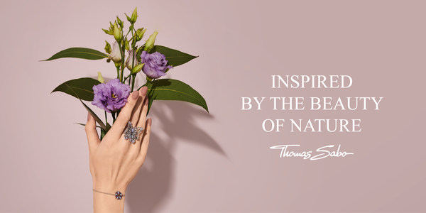 For its Spring/Summer 2021 collections THOMAS SABO draws inspiration from the richness of nature