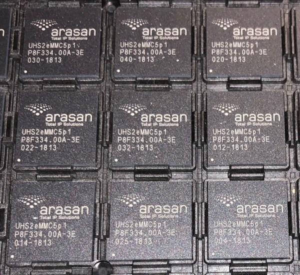 Arasan TSMC 12nm eMMC PHY IP & SD UHS-II Card IP Test Chips