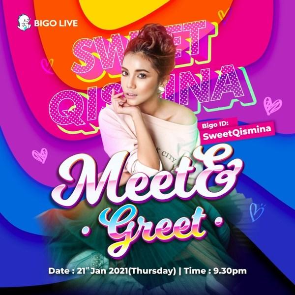 Meet Sweet Qismina on Bigo Live