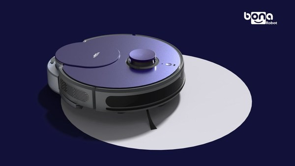"BONA's robot vacuum cleaner BL900 ""Starry Night"""