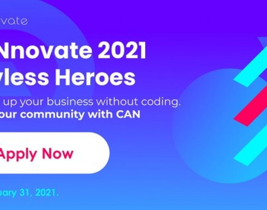 Call for applications for CANnovate 2021 – Devless Heroes, the global no-code startup acceleration program