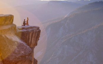Woman falls from 650-foot cliff moments after accepting fiance's proposal, survives