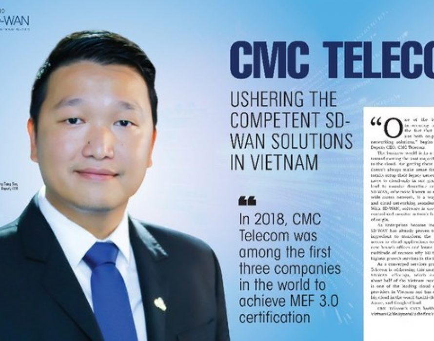 CMC Telecom among TOP 10 SD WAN Solution Providers in Asia Pacific
