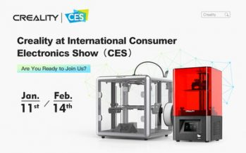 Creality Successfully Shows Off New 3D Printers Online at this Year's All-Digital CES 2021