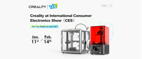 Creality online exhibition at CES 2021
