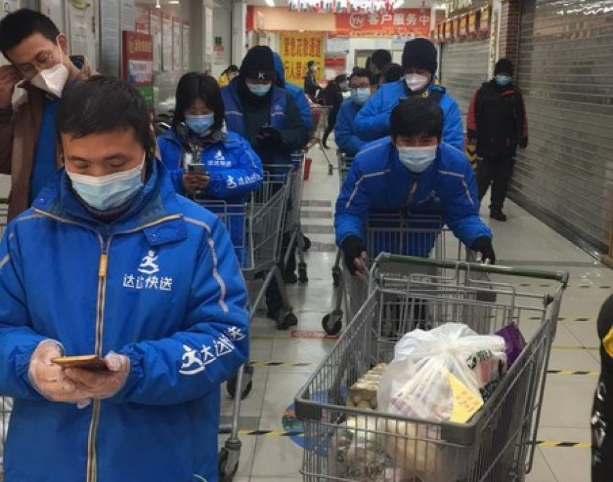 Dada Group secures necessities supply in Shijiazhuang during COVID-19 outbreak — Chinese National TV Reported