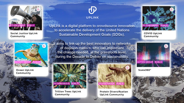 Since its launch at Davos annual meeting 2020, UpLink has hosted 10 global challenges on the world's most pressing issues.