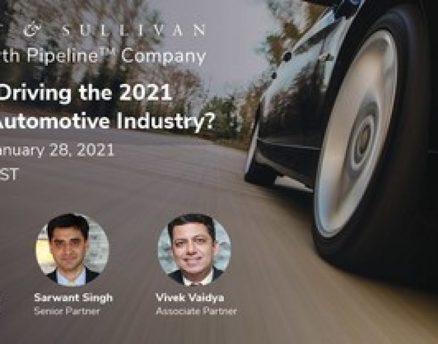 Frost & Sullivan Experts Present a Strategic Outlook of the Global Automotive Industry in 2021