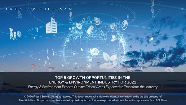 Frost & Sullivan - Top 5 Growth Opportunites in the Energy and Environment Industry for 2021
