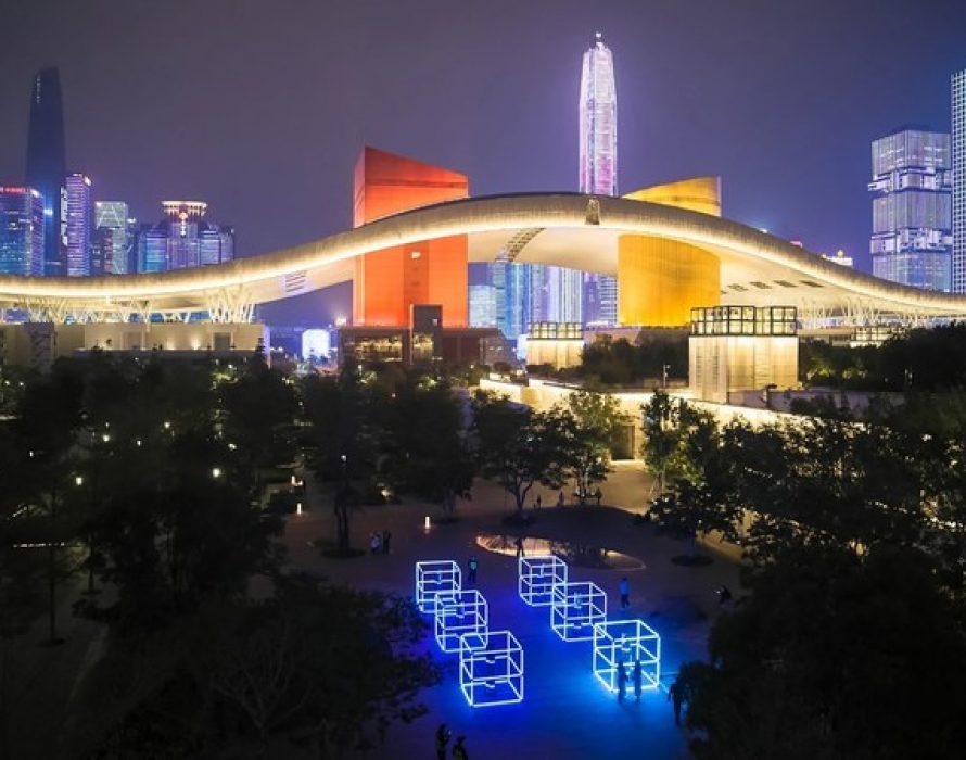 """GLOW SHENZHEN 2020 opens: an exploration of art by the Chinese """"city of technology"""""""