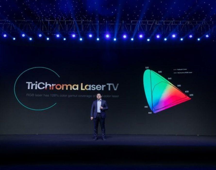 Hisense Fisher Yu: Laser TV Enters TriChroma Era in 2021