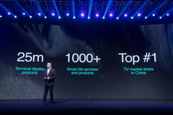 Hisense demonstrated its long-term goal of reconnecting individuals and reuniting the world through screens.
