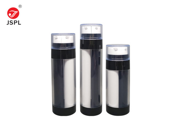 JinSheng New Materials Co., Ltd offer their innovative dual chamber airless bottle, particularly suited to two-step products requiring airtight packaging